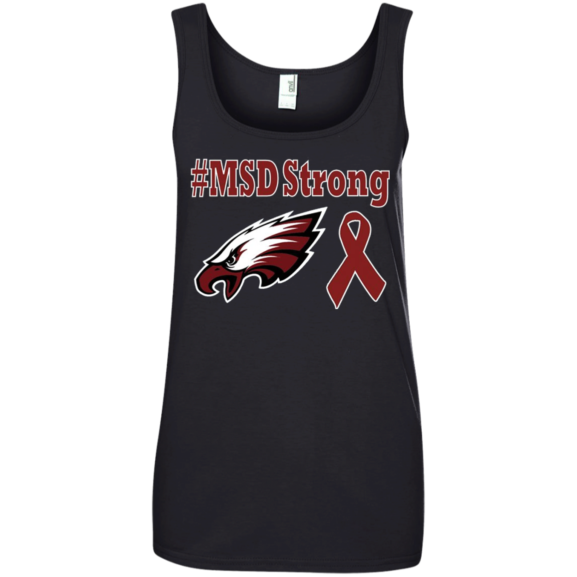 #MSD Strong - Marjory Stoneman Douglas High School T shirt Hoodie Sweater Tank Top 882