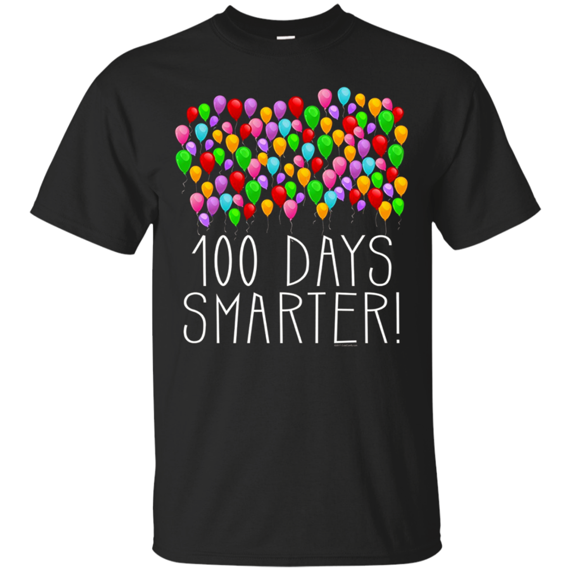 100 Balloons 100th Day of School Teacher Student T shirt hoodie sweater Men