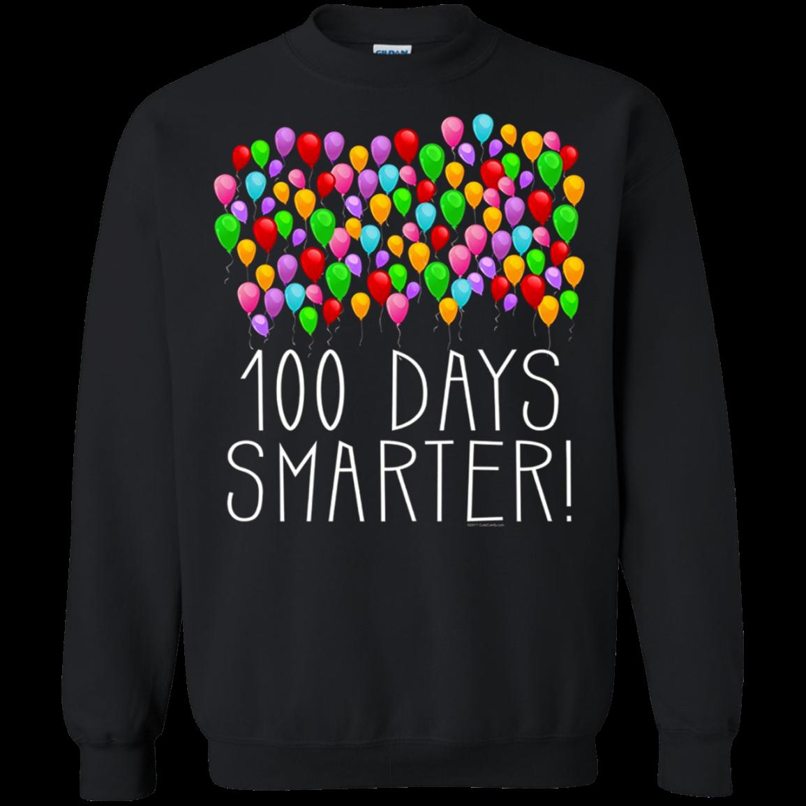 100 Balloons 100th Day of School Teacher Student T shirt hoodie sweater SweatShirt