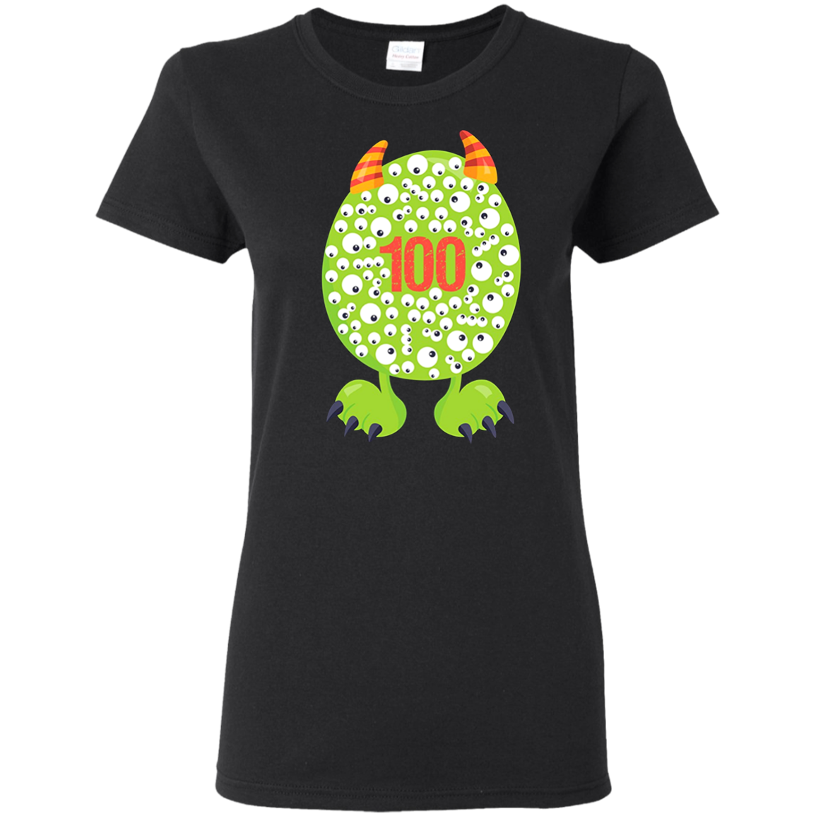 100th Day of School T Shirt Monster Happy 100 Days Kids Boy T shirt hoodie sweater Women 5.3