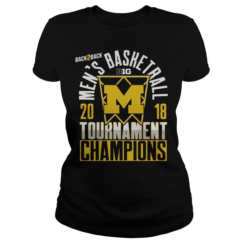2018 Michigan Big Ten Championship Shirt Women