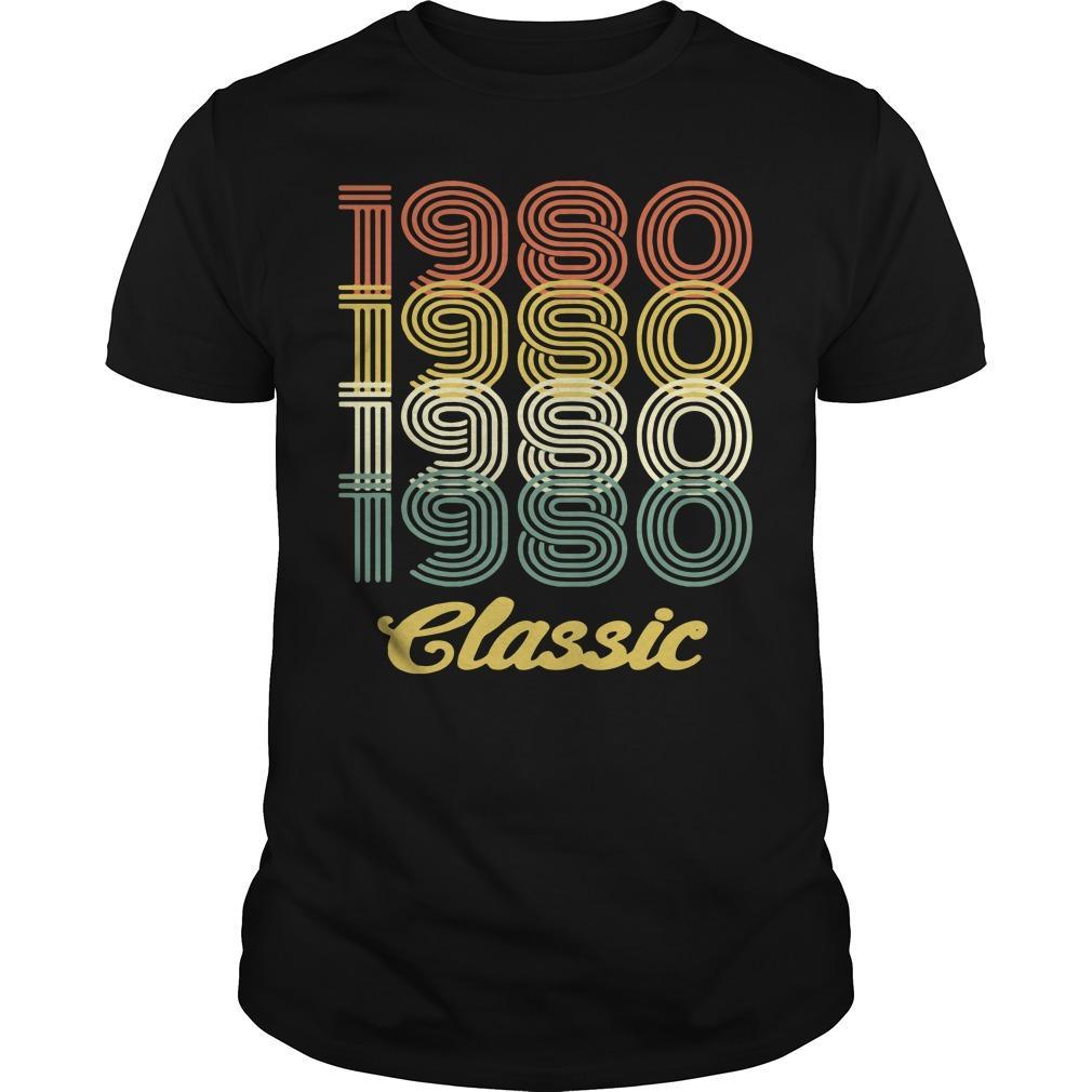 38th birthday vintage 1980 classic shirt Men