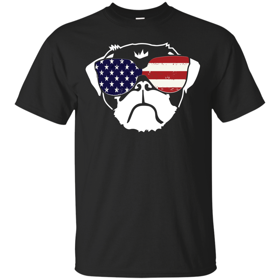 4th Of July Patriotic Dog American Flag Celebration Party t shirt Men