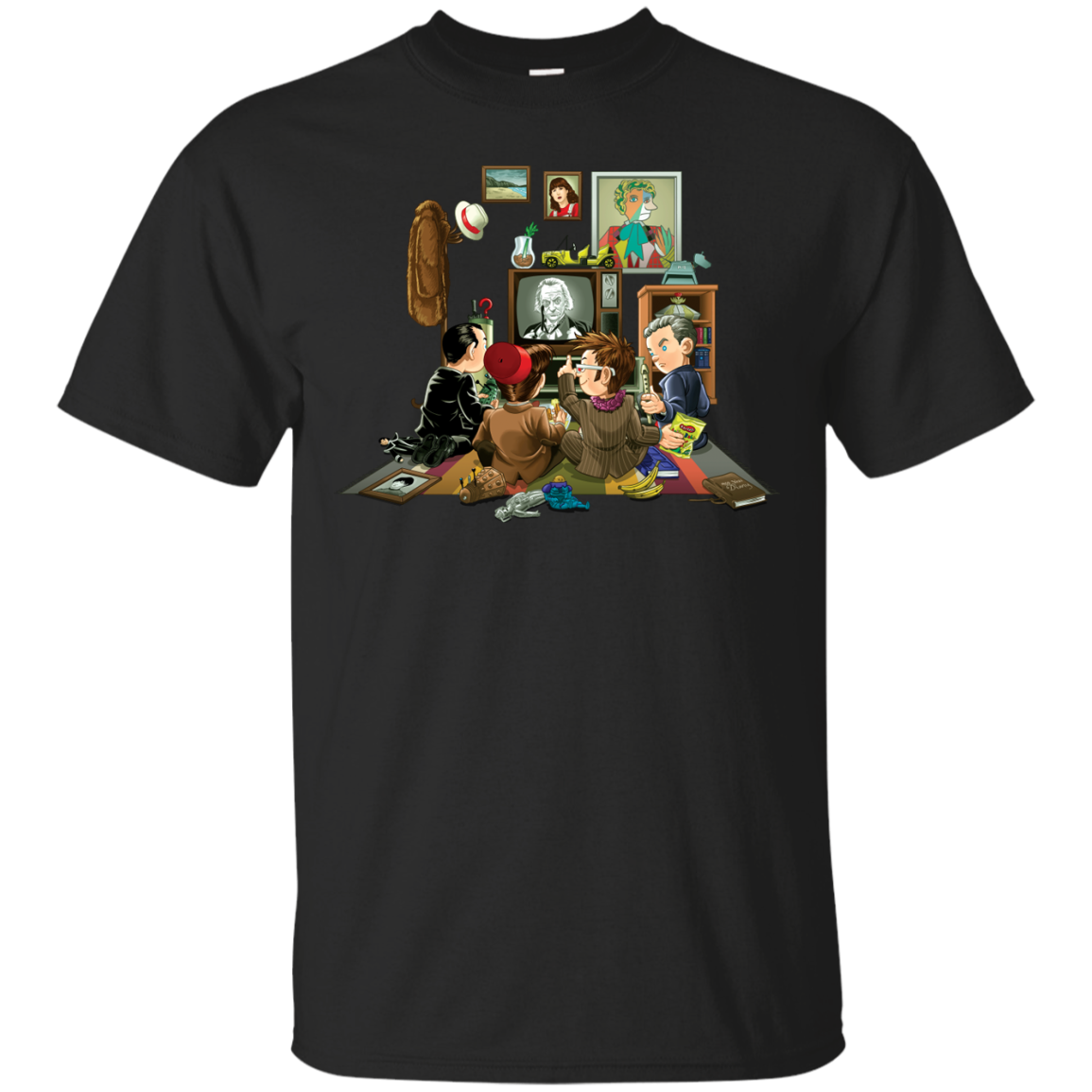 50 Years of The Doctor T-Shirt Men