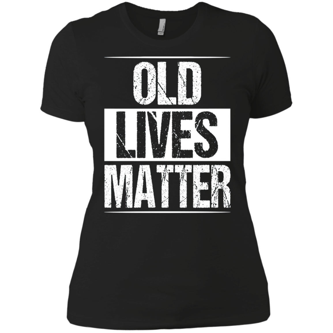 60th Birthday Gifts For Men Old Lives Matter Shirt 50th Dad Ladies' Boyfriend shirt Men