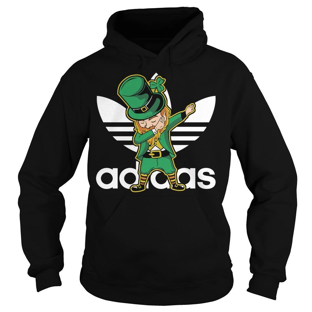 Adidas Leprechaun Dabbing shirt Hoodie