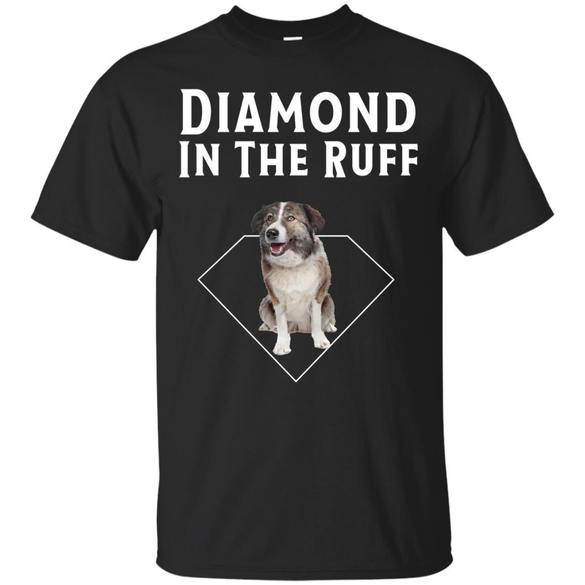 Aidi Diamond in The Ruff Dog Lover T-Shirt Men