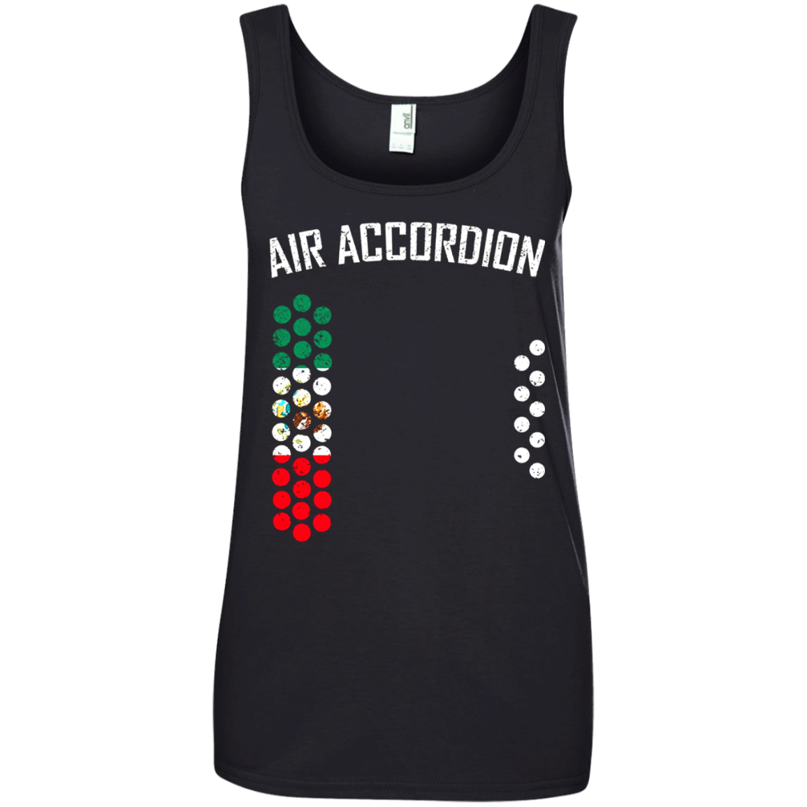 Air accordion t shirt - The Flag of Mexico T shirt hoodie sweater Tank Top 882