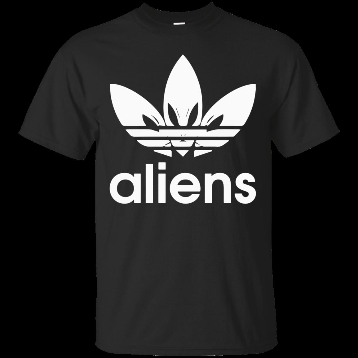 Aliens Adidas Shirt Cotton t shirt Men