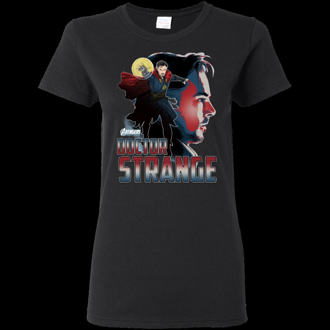 Avengers Infinity War Doctor Strange Head T shirt Hoodie Sweater Women 5.3