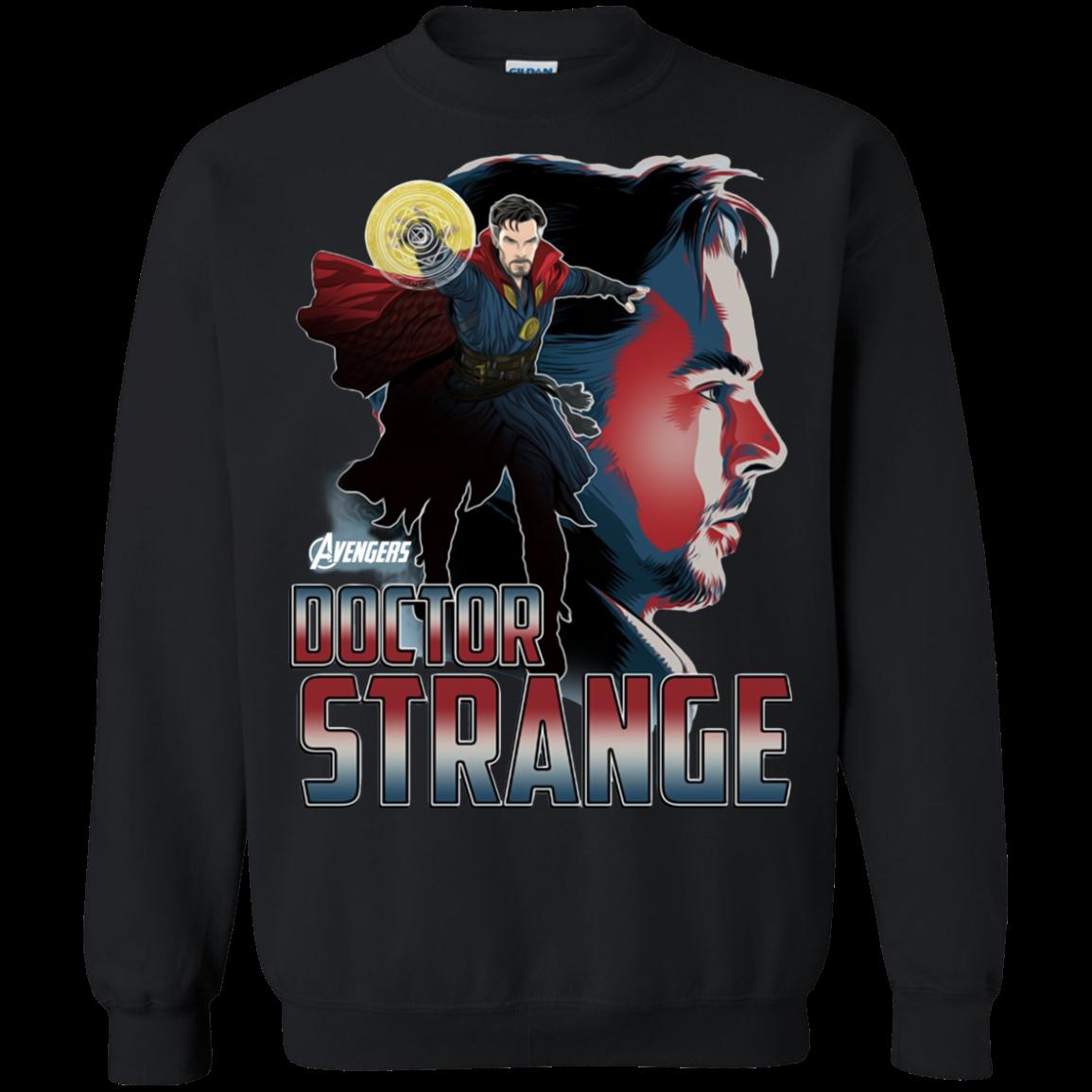 Avengers Infinity War Doctor Strange Head T shirt Hoodie Sweater SweatShirt