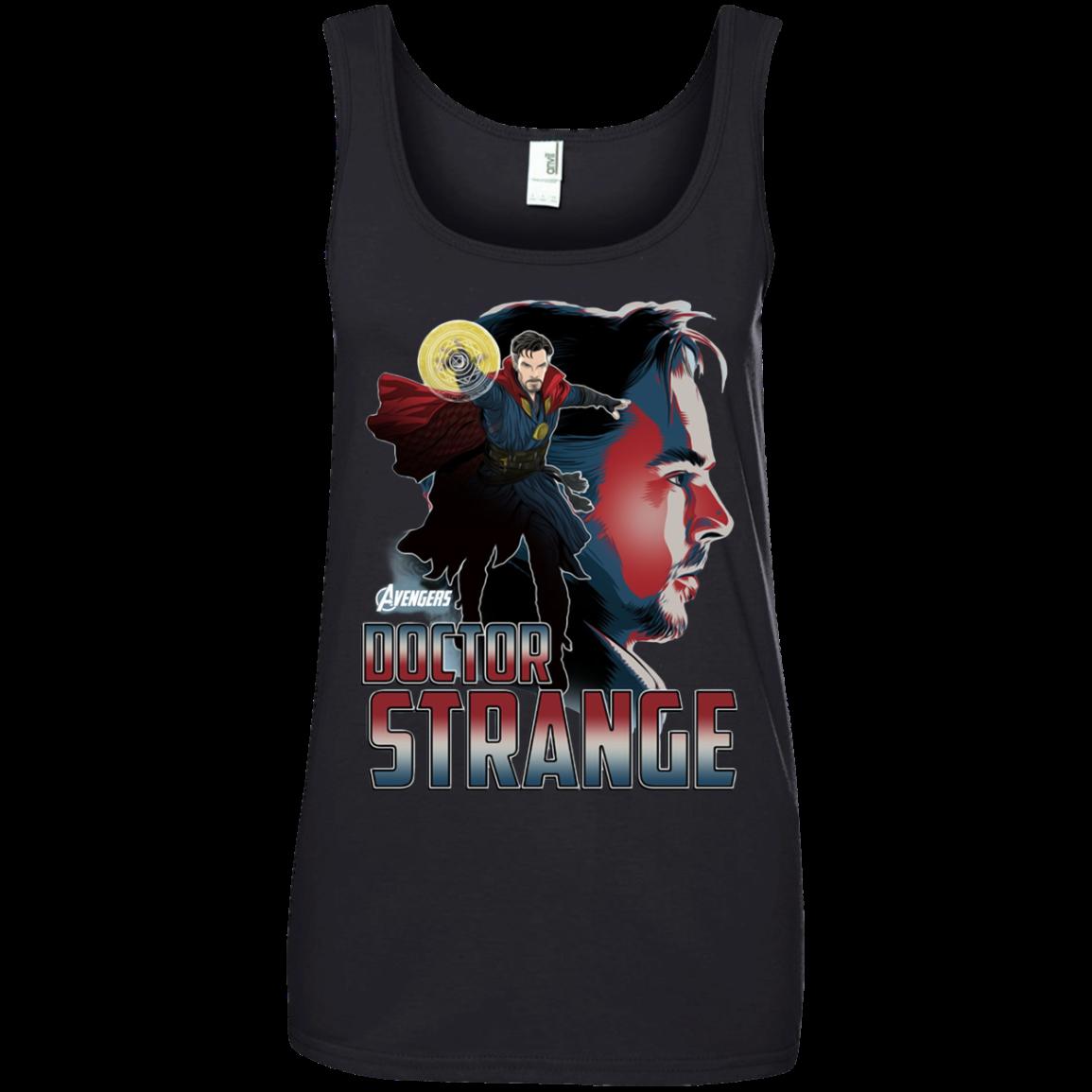 Avengers Infinity War Doctor Strange Head T shirt Hoodie Sweater Tank Top 882