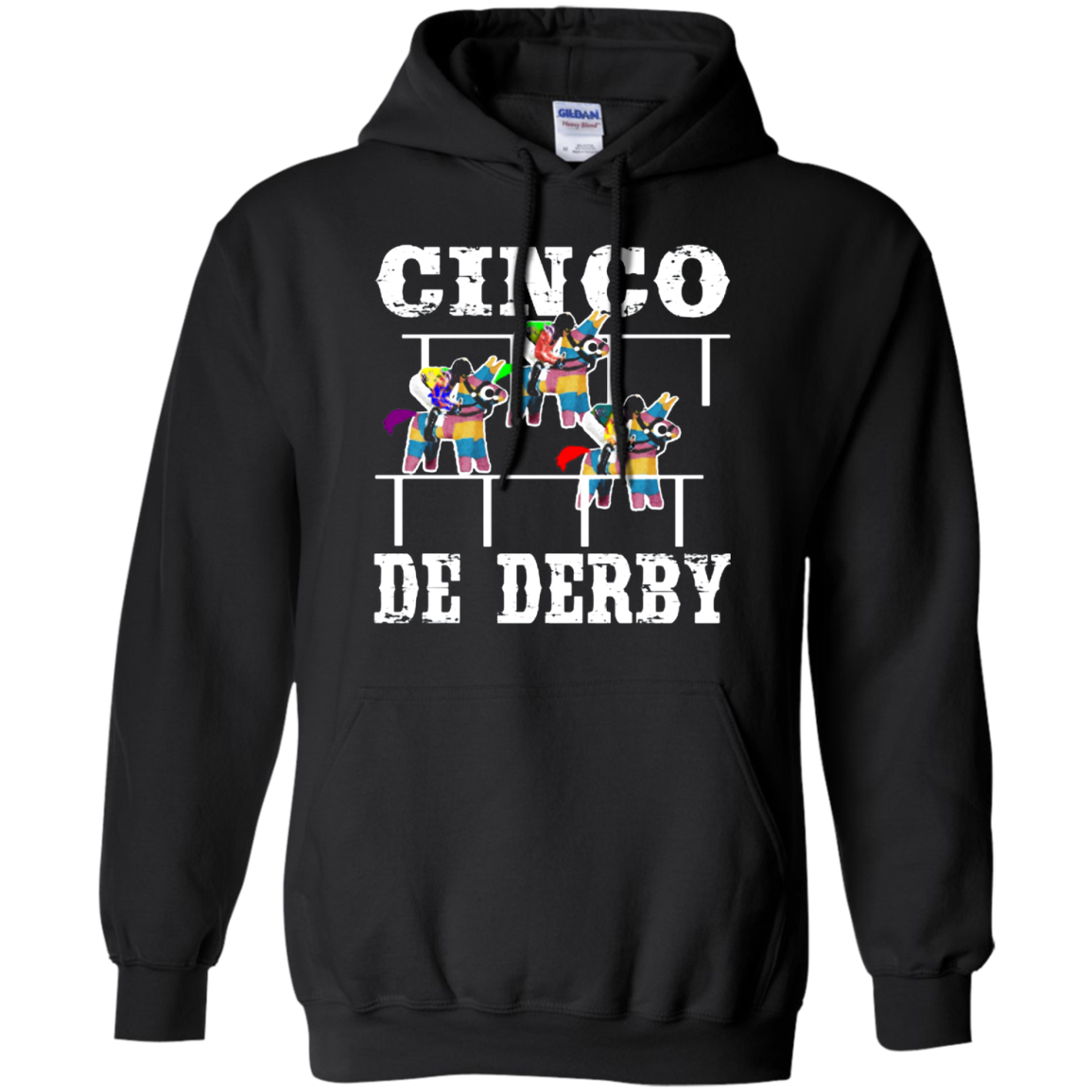 Cinco De Derby De Mayo Kentucky Horse Race Mexican shirt Hoodie Men