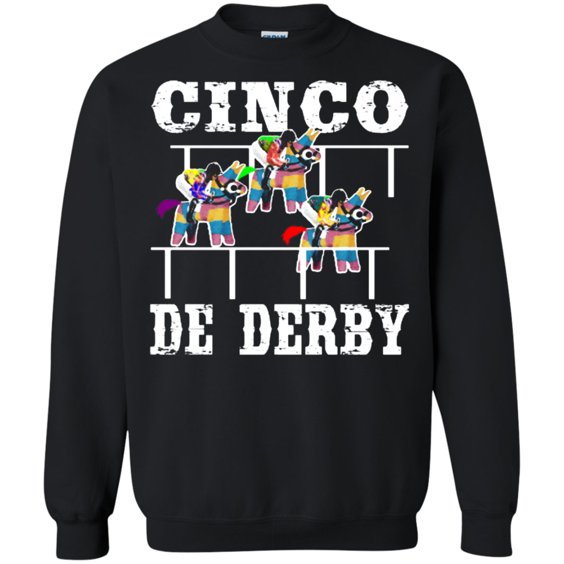 Cinco De Derby De Mayo Kentucky Horse Race Mexican shirt Sweatshirt Men