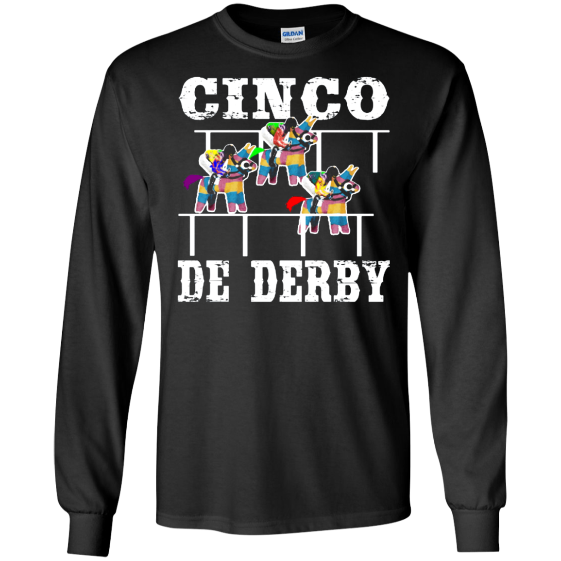 Cinco De Derby De Mayo Kentucky Horse Race Mexican shirt Ultra Cotton shirt Men