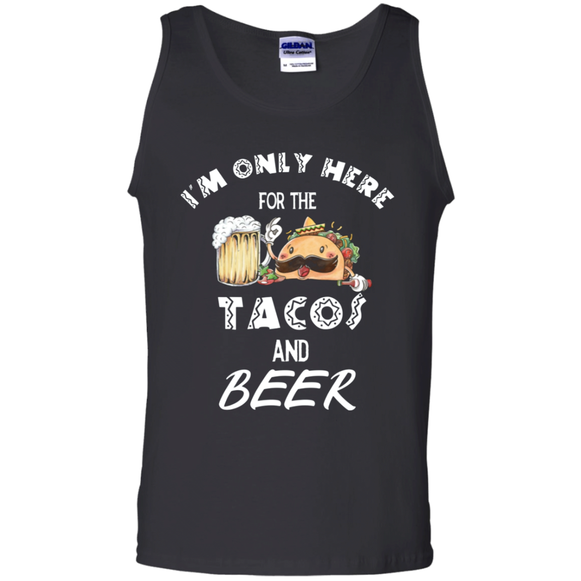 Cinco De Mayo Shirt Men Women Tacos Mexican Funny Gift Cotton Tank Top Men
