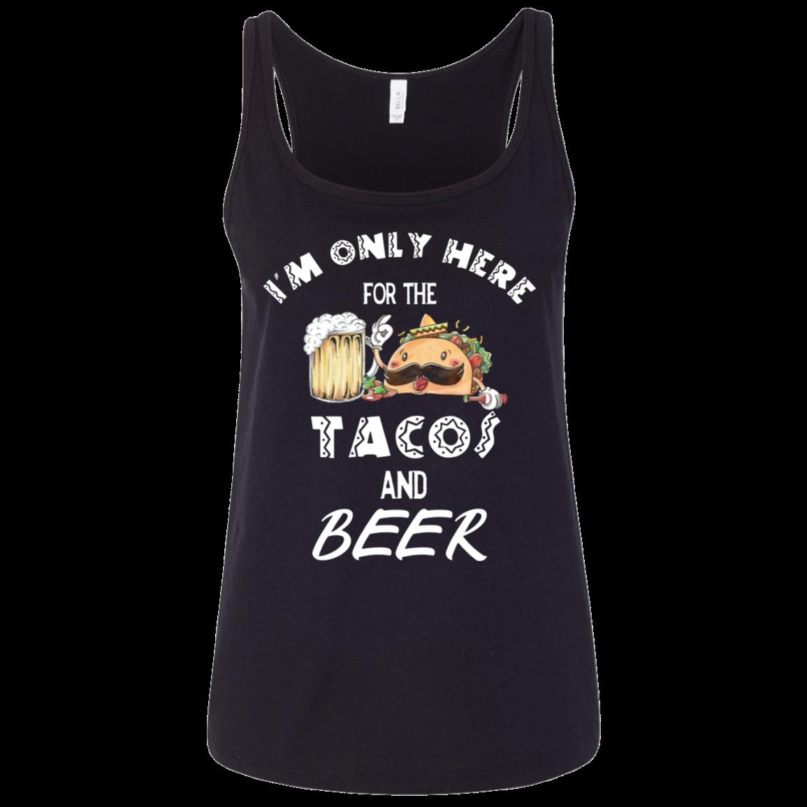 Cinco De Mayo Shirt Men Women Tacos Mexican Funny Gift Ladies' Relaxed Jersey Tank Men