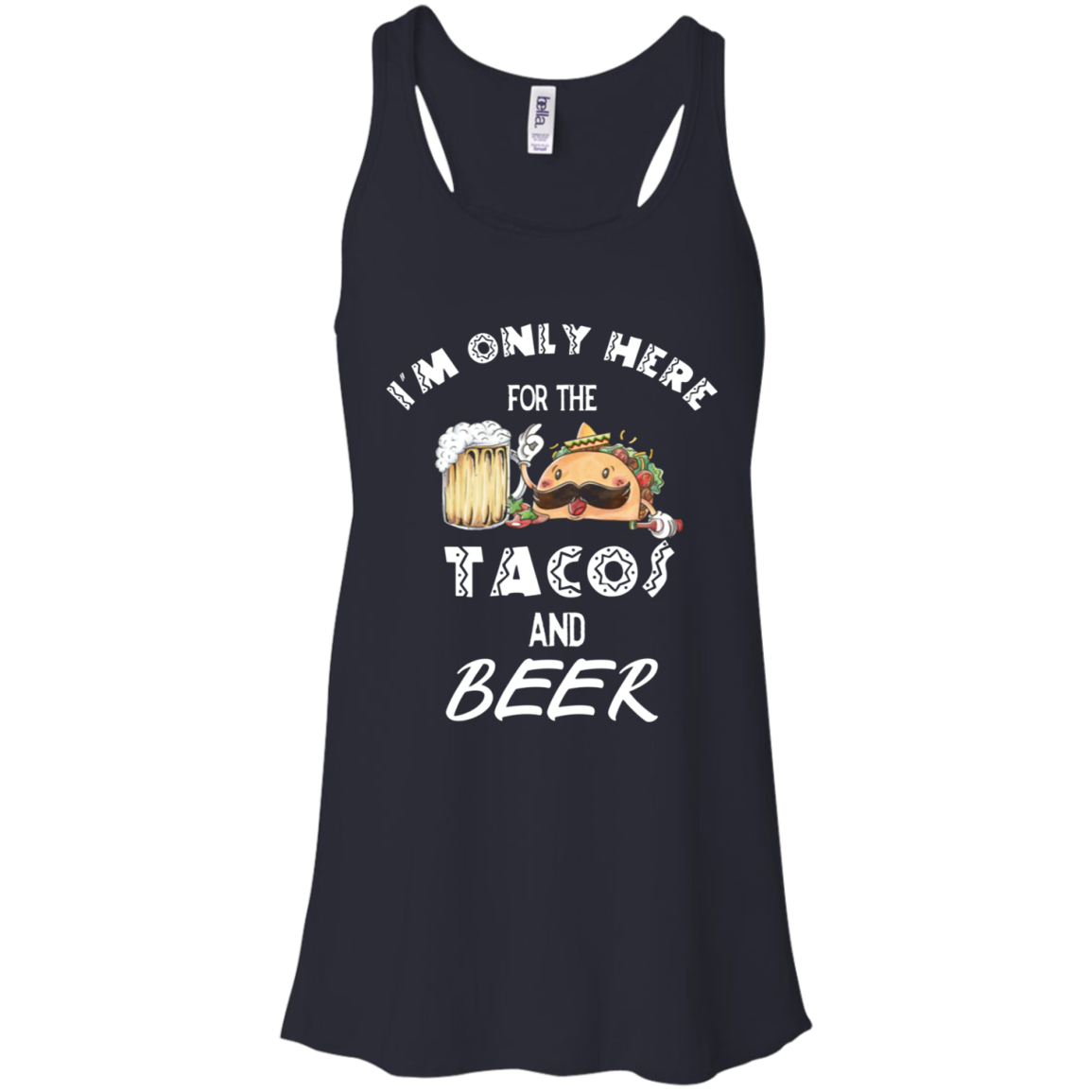 Cinco De Mayo Shirt Men Women Tacos Mexican Funny Gift Racerback Tank Men