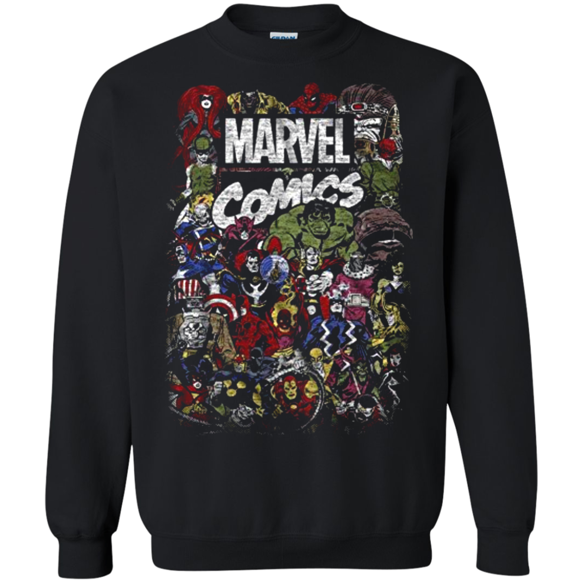 Comics Logo Thor Hulk Iron Man Avengers Spiderman Daredevil Strange Loki Thanos T shirt hoodie sweater SweatShirt