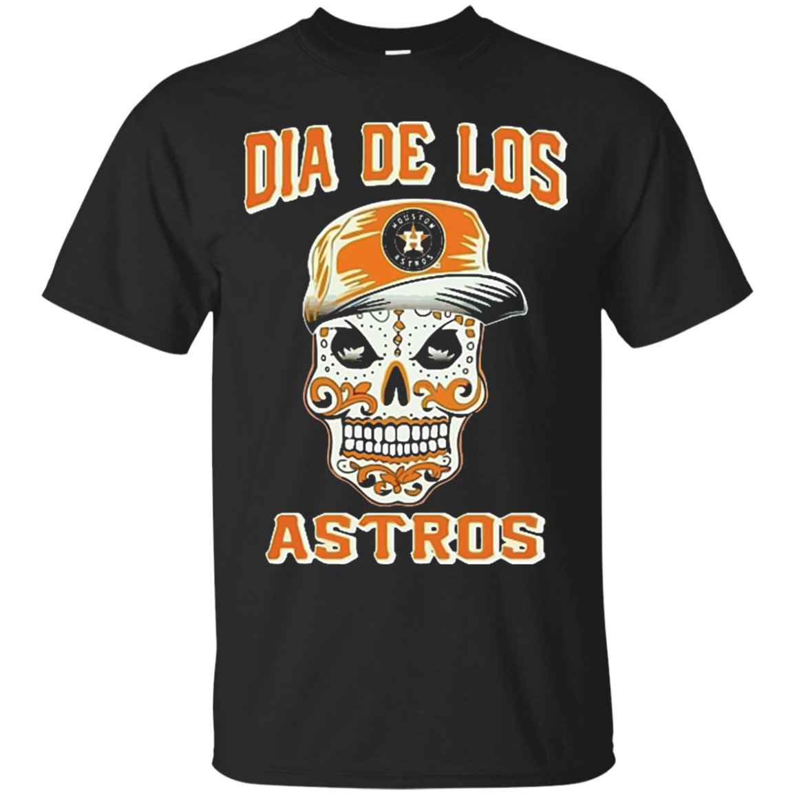 Dia De Los Astros Houston Astros fan Cotton T Shirt Men