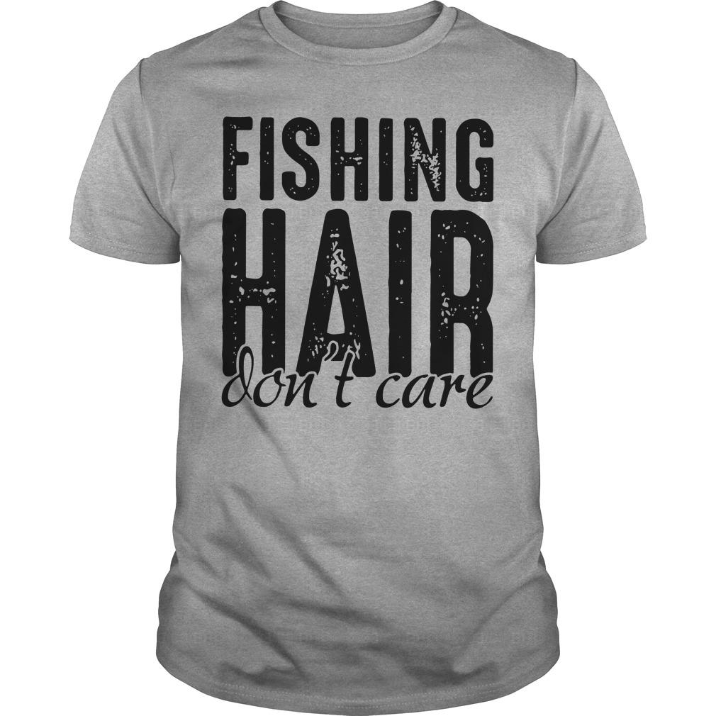 Fishing hair - Don't care classic shirt Men