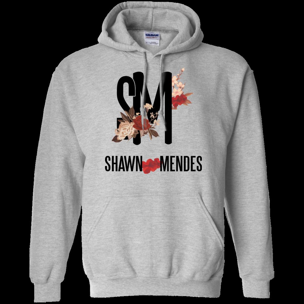 Floral Shawn Mendes G185 Gildan Pullover Hoodie 8 oz. Men