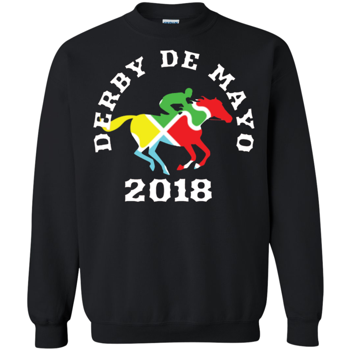 Kentucky Horse Race Mexican shirt Derby De Mayo Sweatshirt Men