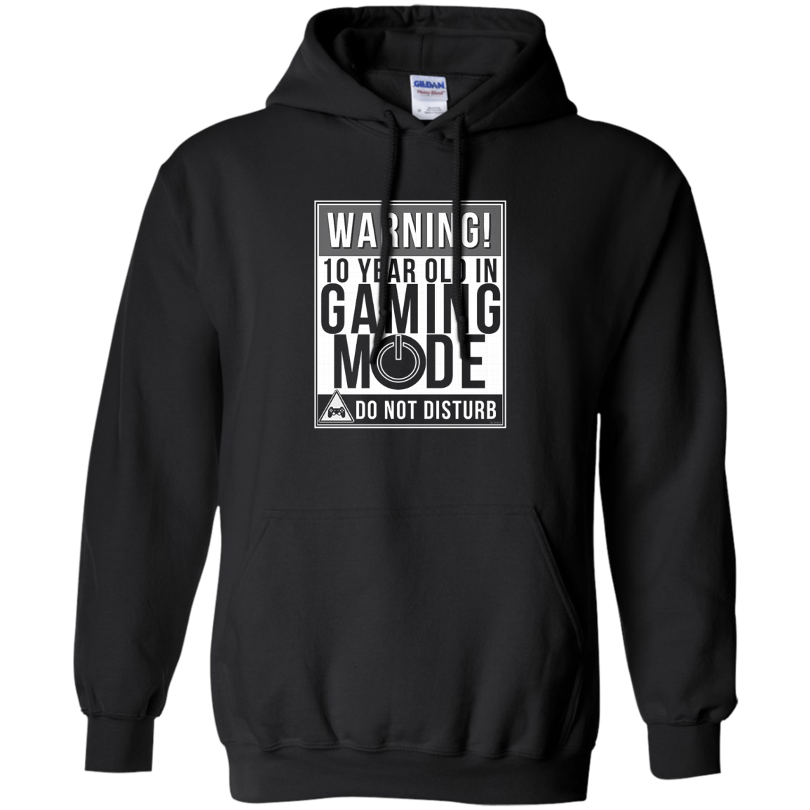 Kids 10th Birthday Shirt Gift Idea For 10 Year Old Gamers T shirt Hoodie Sweater Hoodie