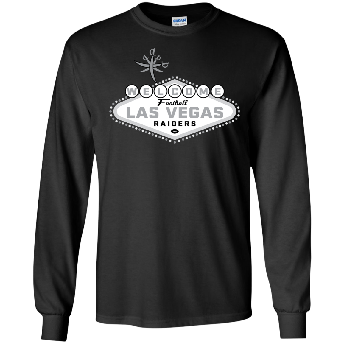 Las Vegas Raiders T-Shirt Long Sleeve 240