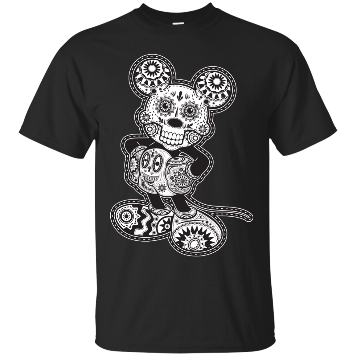 Sugar Skull Mickey T-Shirt Men