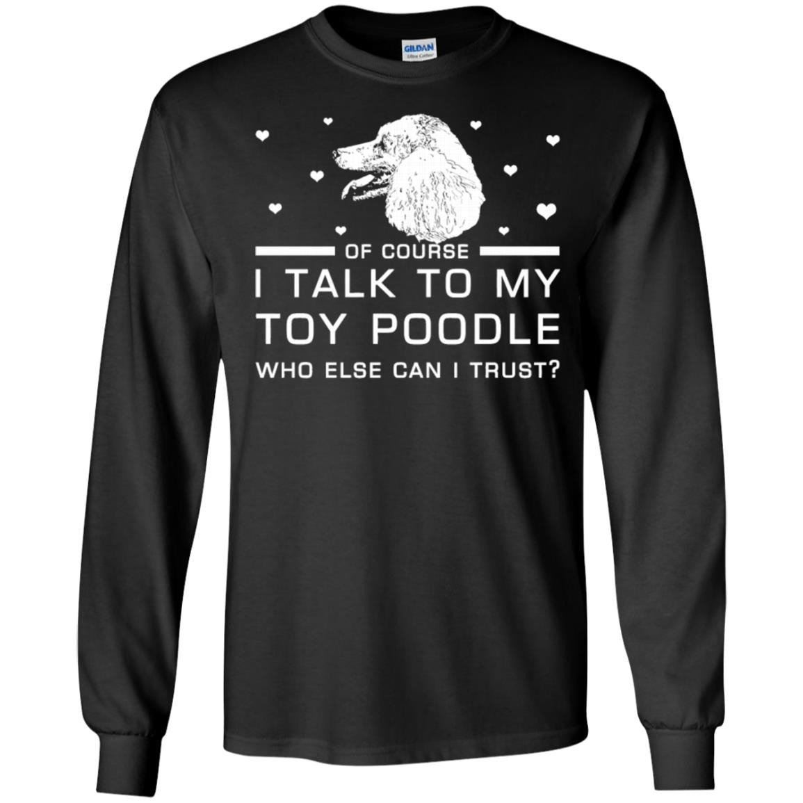 Toy poodle Long Sleeve T-Shirt
