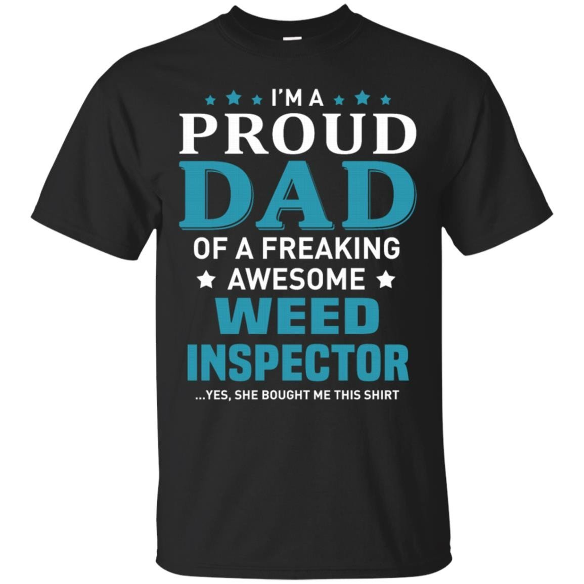 Weed Inspector T-Shirt Men