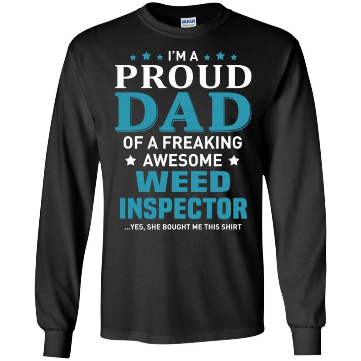 Weed Inspector T-Shirt Long Sleeve 240