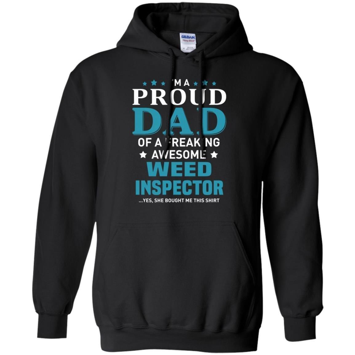 Weed Inspector T-Shirt Hoodie