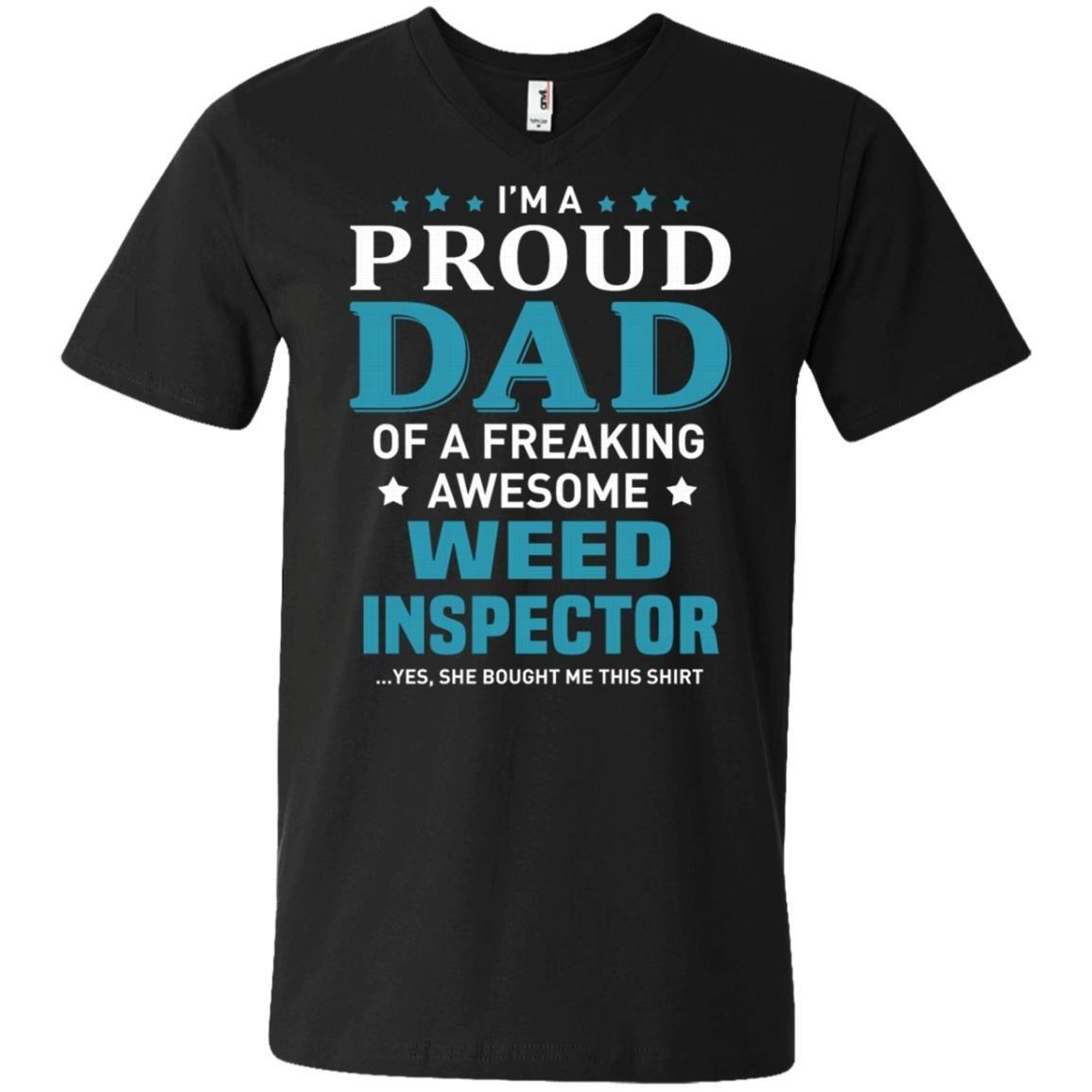 Weed Inspector T-Shirt Men Anvil