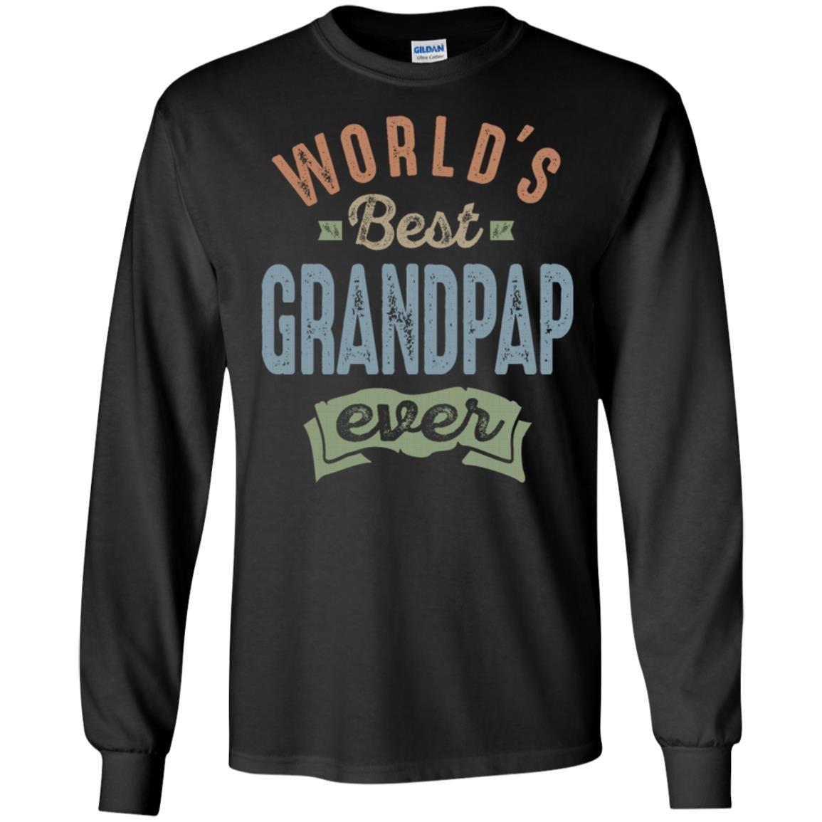 World S Best Grandpap T-Shirt Long Sleeve 240