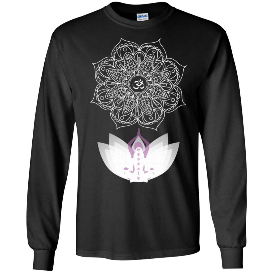 Yoga Awesome Yoga For Yoga Lovers T-Shirt Long Sleeve 240