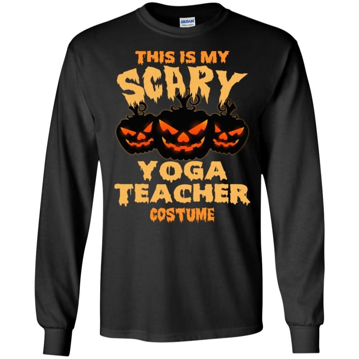 Yoga Teacher This Is My Yoga Teacher Costume T-Shirt Long Sleeve 240