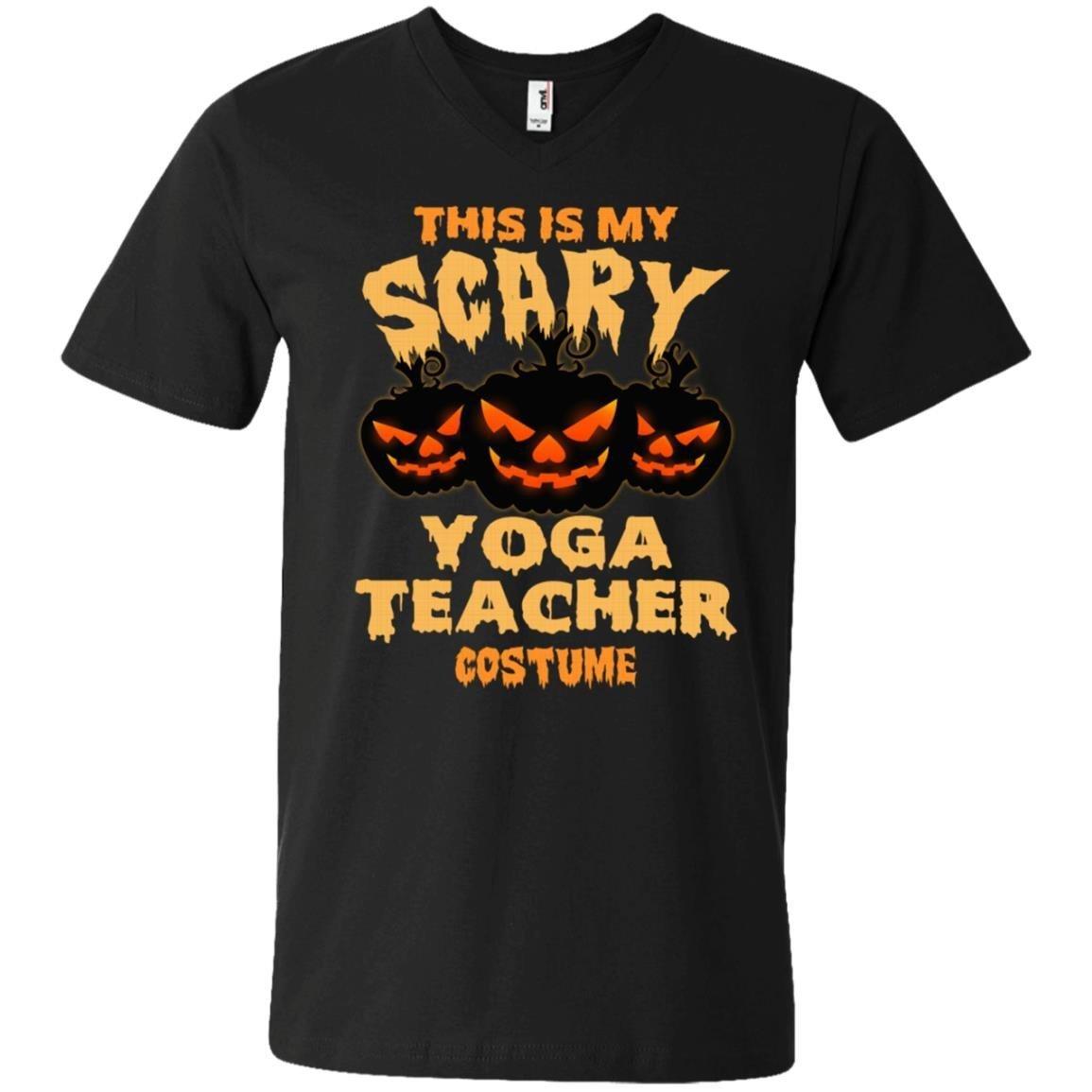 Yoga Teacher This Is My Yoga Teacher Costume T-Shirt Men Anvil