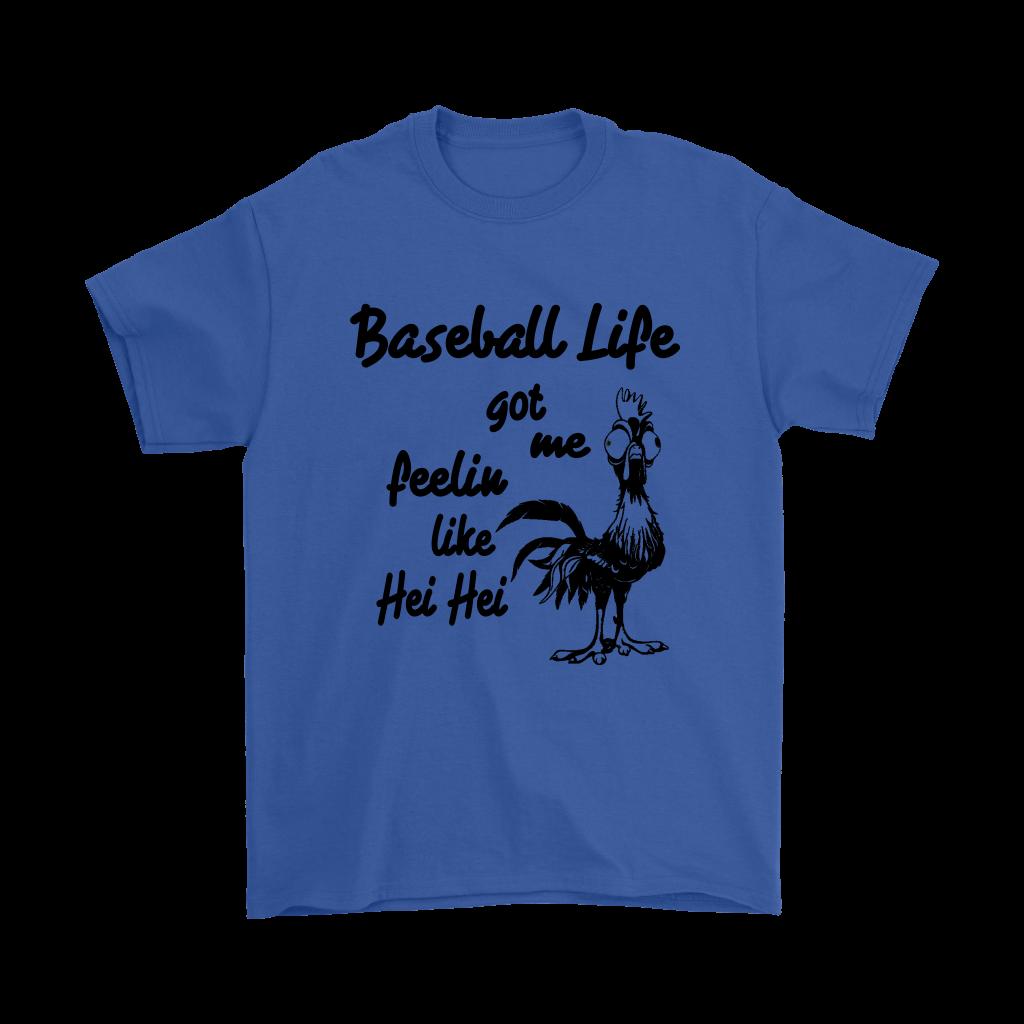 Baseball Life Got Me Feelin Like Hei Hei Moana Movies Shirts