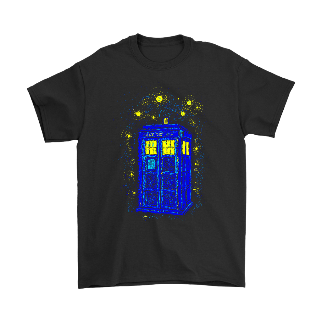 Comic Con - Space Time Impressionism Reprint Doctor Who Shirts