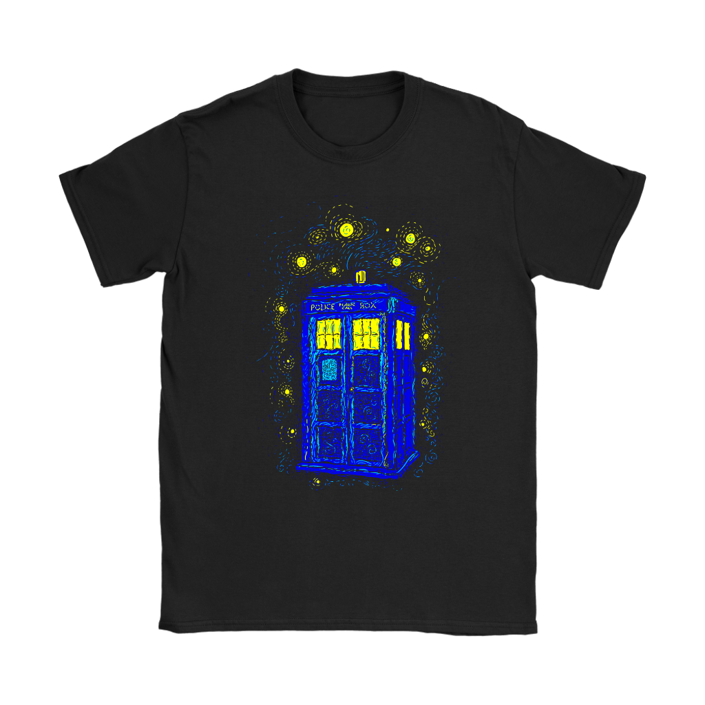 Comic Con - Space Time Impressionism Reprint Doctor Who Shirts Women