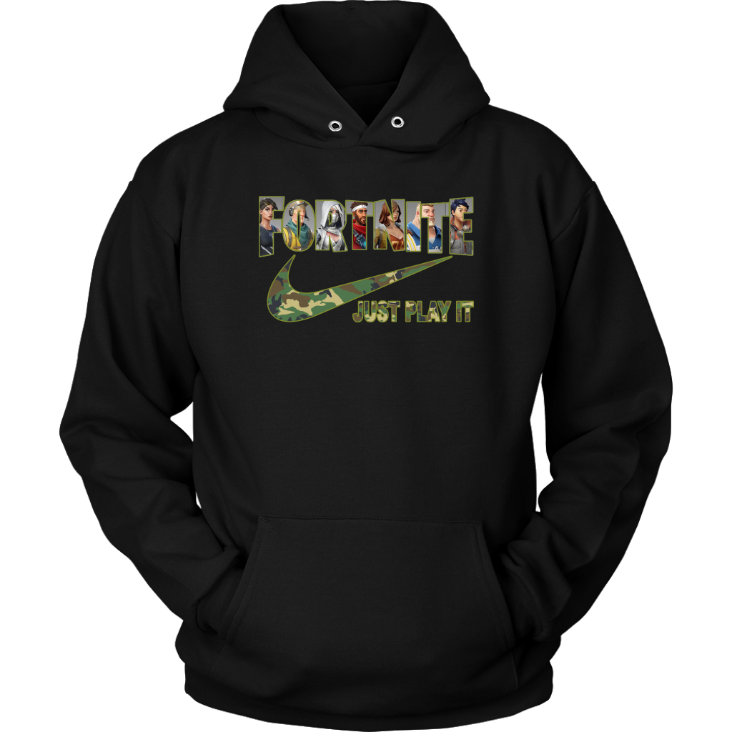 Nike Fortnite Game Just Play It Camo Hoodie